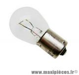 Déstockage ! Ampoule de feu 12 Volt 15 Watt BA15S P21W