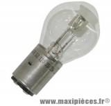 Ampoule 12v 35/35w blanc BA20d (x1)