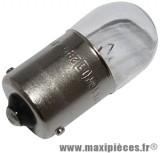 Déstockage ! Ampoule de clignotant 12V 10W BA15S (X4)