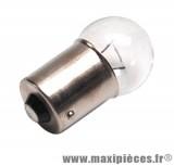 Prix spécial ! Ampoule 6v 10w blanc BA15S (à l'unité)