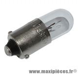 Déstockage ! Ampoule feu de position 12v 1.5w blanc BA9S (à l'unité)