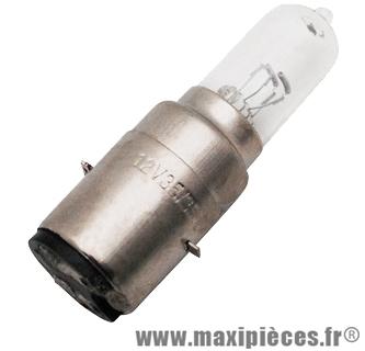 Ampoule 12V 35/35W BA20D halogene pour auto/moto/scooter/quad