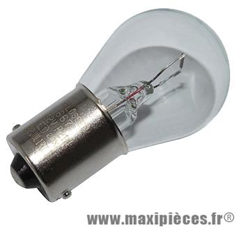 Prix spécial ! Ampoule 12v 21/5w blanche BAY15D (boite de 10)