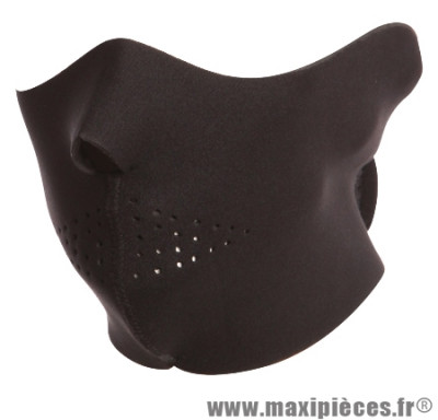 Déstockage ! Masque Bering noir Taille Unique en néoprène