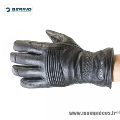 Prix discount ! Gants moto Bering Rift taille S (T8) mi-saison waterproof noir (produits pour le sport/loisir)