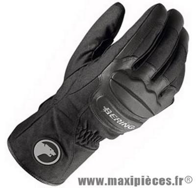 Prix discount ! Gants moto hiver Bering Oural taille L (T10) waterproof noir (produits pour le sport/loisir)