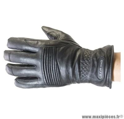 Prix discount ! Gants moto Bering Rift taille XS (T7) mi-saison waterproof noir (produits pour le sport/loisir)