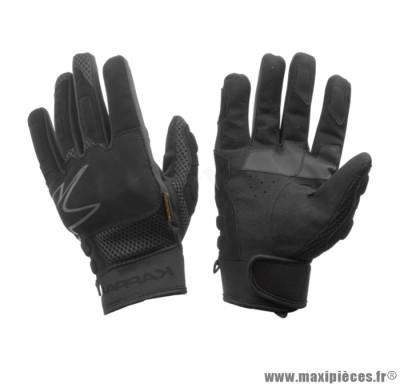 Déstockage ! Gants moto/quad de marque Kappa mi-saison noir taille M (Produits pour sport/loisir)