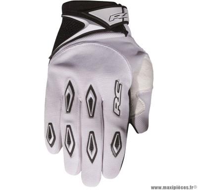 Déstockage ! Gants cross RC Ride Blanc Taille L (Produits pour sport/loisir/Norme CE/EPI 94-689 type1)