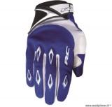Gants cross RC Ride Bleu Taille S (Produits pour sport/loisir/Norme CE/EPI 94-689 type1) *Déstockage !