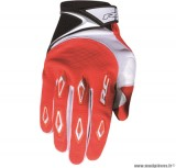 Gants cross RC Ride Rouge Taille XXS (Produits pour sport/loisir/Norme CE/EPI 94-689 type1) *Déstockage !
