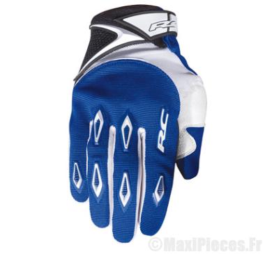 Déstockage ! Gants cross RC Ride Bleu Taille XXS (Produits pour sport/loisir/Norme CE/EPI 94-689 type1)