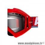 Support fixation élastique pour Masque/Lunette cross Ariete Riding Crows Rouge *Déstockage !