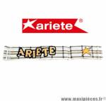 Bandeau élastique pour Masque/Lunette cross Ariete orange, gris et blanc *Déstockage !