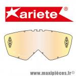Écran MULTI LAYER pour Masque/Lunette cross Ariete 07 - Adrenaline - Riding Crows  *Déstockage !