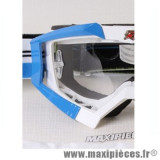 Déstockage ! Support fixation élastique pour Masque/Lunette cross Ariete Riding Crows bleu