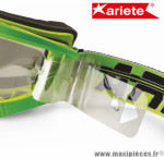 21 Tear-off pour Masque/Lunette cross Ariete Adrenaline - Riding Crows - MUDMAX  *Déstockage !