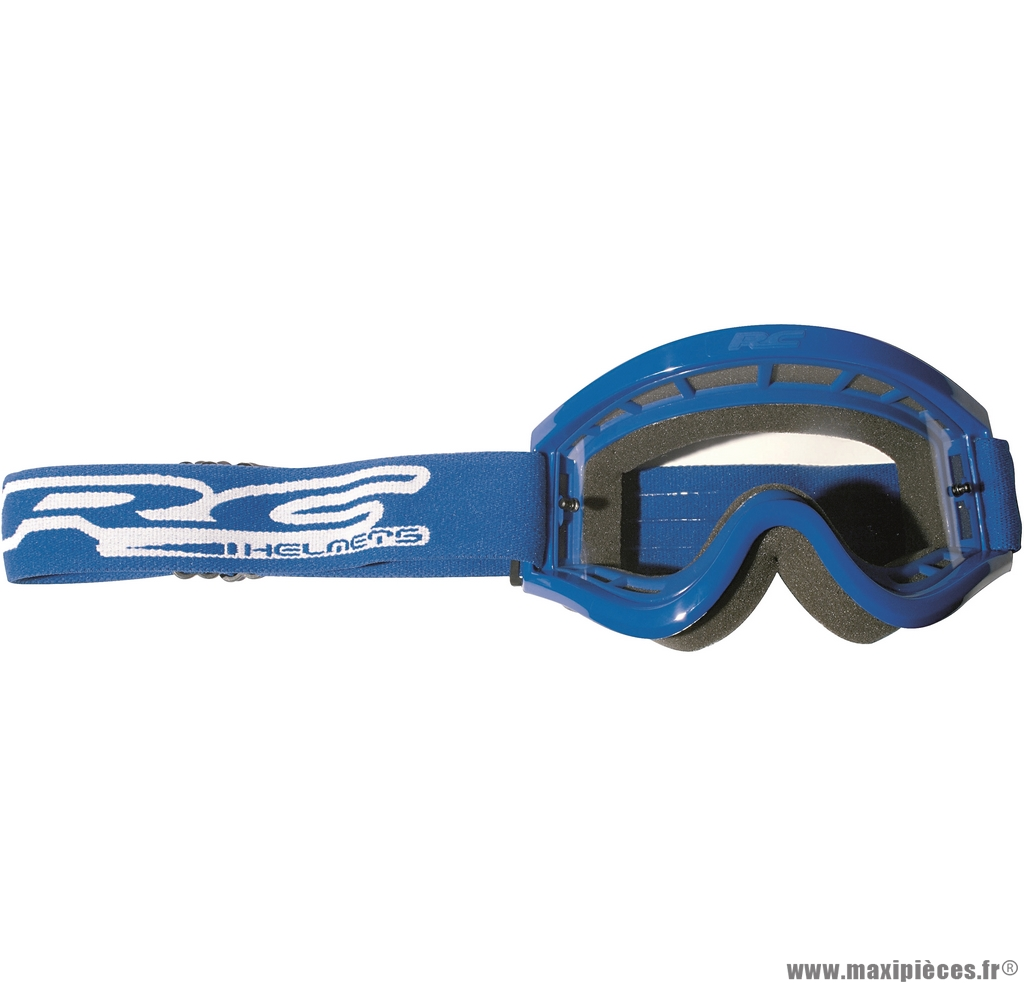 Déstockage ! Lunette cross bleu RC adulte