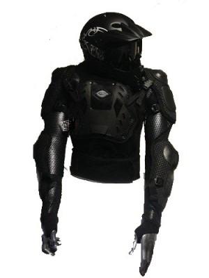 Déstockage ! Gilet de protection RC Homme taille XL pour motocross (Homologué CE: EN1621-2 et EN14021, FFM)