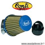 Filtre à air type KN CONTI CHR bleu D.35/28mm *Déstockage !