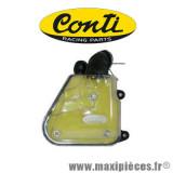 Filtre/boîte à air Conti transparent complet avec mousse jaune pour scooter nitro/ovetto/machg/fizz/forte/aerox/axis/breeze/neos/jog... *Déstockage !