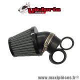 Filtre à air type KN Victoria Bull noir D.35/28mm *Déstockage !