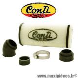 Filtre à air en mousse CONTI CHR long avec réducteur D.35/28mm *Déstockage !