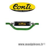 Déstockage ! Mousse de guidon Conti jaune/noir racing parts 22cm pour moto/50 à boite/scooter/mobylette/quad