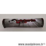 Mousse de guidon Victoria Bull rouge/noir/blanc 14cm pour moto/50 à boite/scooter/mobylette/quad *Déstockage !