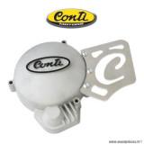 Carter cache allumage + cache pignon de sortie de boite Conti pour 50 a boite motorisation am6 + cpi boite c0001 *Déstockage !