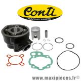 Déstockage ! Kit cylindre fonte complet Conti origin pour moteur minarelli am6 Aprilia rs, Beta rr, Mbk xlimit, Rieju smx, Yamaha dtr