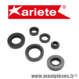 Déstockage ! Kit joints spi moteur Ariete pour motorisation minarelli am6 aprilia rs50 mbk x-limite x power