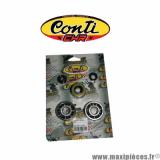Kit roulement renforcé et 6 joints spi d'embiellage et moteur Conti CHR pour moteur Minarelli am6 50cc aprilia rs50 mbk x-limite x power yam dtr tzr peugeot xps xp6 xr6 *Déstockage !
