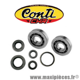 Kit roulement+joint spi (X5) Conti CHR pour scooter Piaggio typhoon fly liberty ntt nrg zip vespa Gilera dna Aprilia scarabeo sr