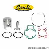 Déstockage ! Kit piston+pochette de joint Conti origin pour Gilera dna runner, Piaggio zip nrg ntt quartz (Liquide)