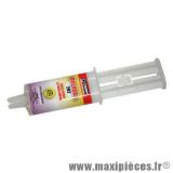 Colle epoxy Orapi operox 5 202 à prise rapide seringue 28g *Déstockage !