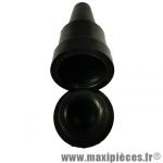 Porte bougie noir avec bouchon à clipser, pièce pour Scooter, Mécaboite, Mobylette, Maxi Scooter, Moto, Quad *Déstockage !