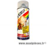 Déstockage ! Bombe de vernis plastifiant acrylique séchage rapide