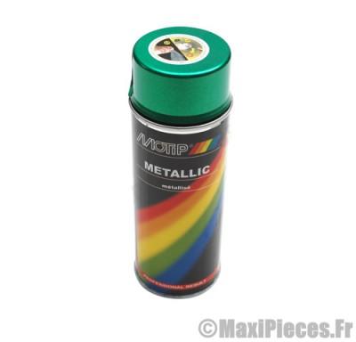 Déstockage ! Bombe de peinture Vert métallisé