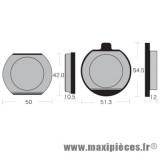 Déstockage ! Plaquettes de freins kevlar Vesrah pour moto Kawasaki Z400/Z440/Z550/Z650/Z750/Z1000