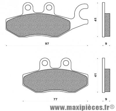 Prix spécial ! Plaquettes de freins avant droite pour Piaggio X9