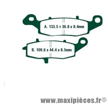 Déstockage ! Plaquette de frein Bendix pour Suzuki GSR 750 de 2011 à 2016