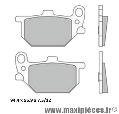 Déstockage ! Plaquette de frein AP Racing Yamaha XS1100 1979-1981
