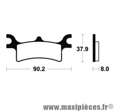 Déstockage ! Plaquette de frein arrière Bendix Polaris 800 Sportsman 2005-2010