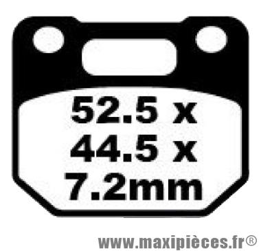 Déstockage ! Plaquette de frein Suzuki RG125 1986-1990