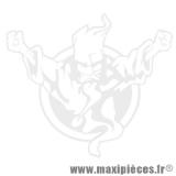 Autocollant/stickers sorcier blanc (L22xH19,5cm) * Déstockage !