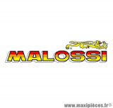 Grand autocollant / stickers Malossi (22x5.5cm) *Déstockage !