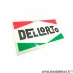 Stickers/Autocollant DELLORTO (12x6cm) à l'unité *Déstockage !