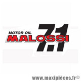 Déstockage ! Autocollant / stickers Malossi 7.1 Motor Oil (14.5x6.5cm)