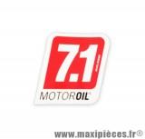 Prix discount ! Autocollant 7.1 Motor Oil de Malossi (7,5 x 8,5 cm) à l'unité